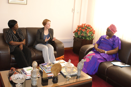Meeting with Minister of Culture