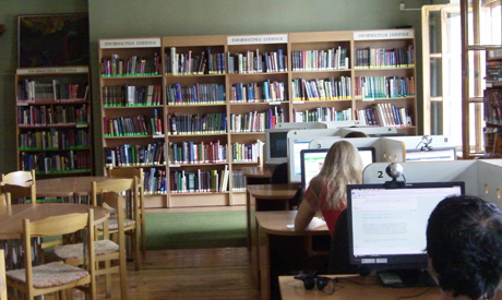Library tours give an opportunity to learn more about the sector in Lithuania