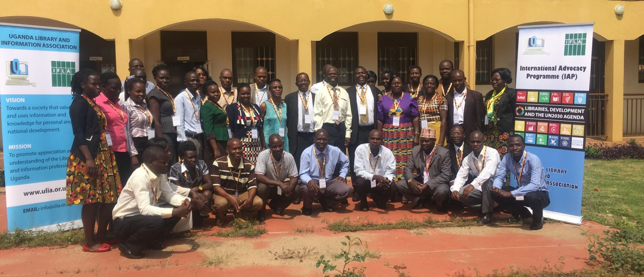 Participants at an IAP workshop in Uganda