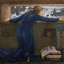 Dorigen of Bretagne longing for the safe return of her husband, Edward Burne-Jones, 1871, copyright Victoria and Albert Museum