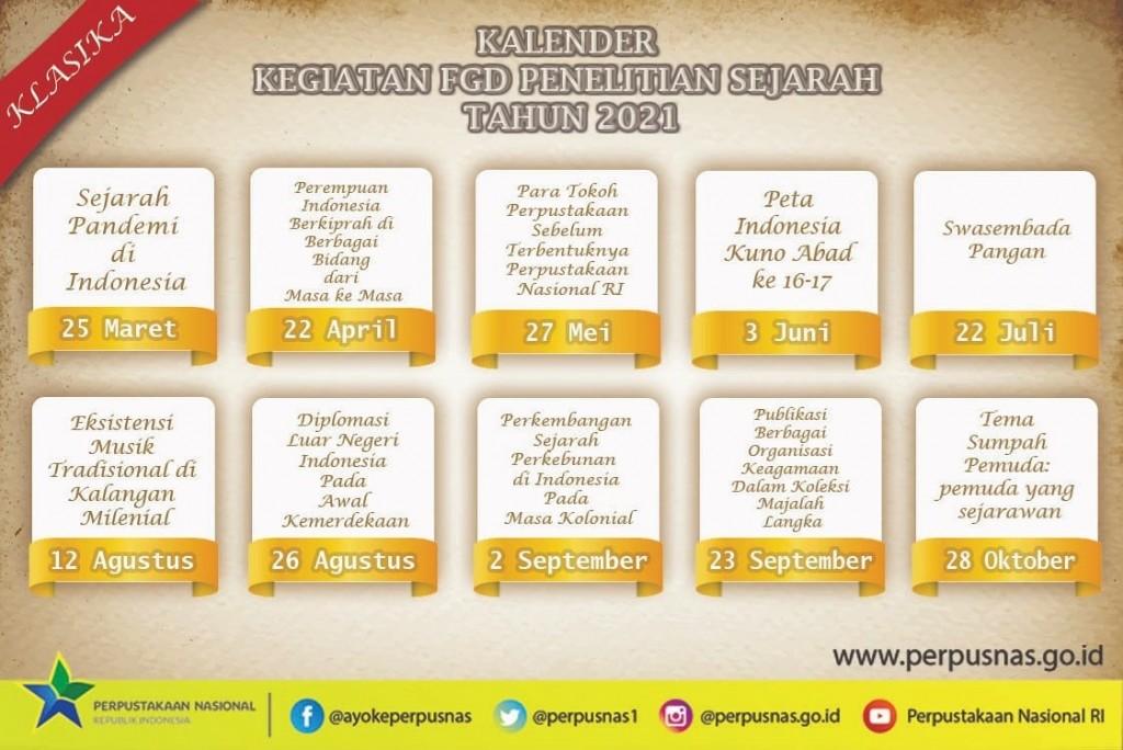 The Calendar of the FGD