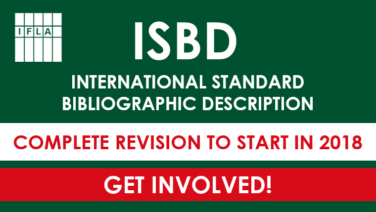 ISBD New Revision to Start in 2018