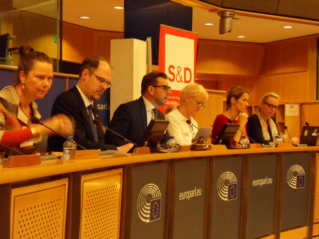 Library Panel at European Parliament