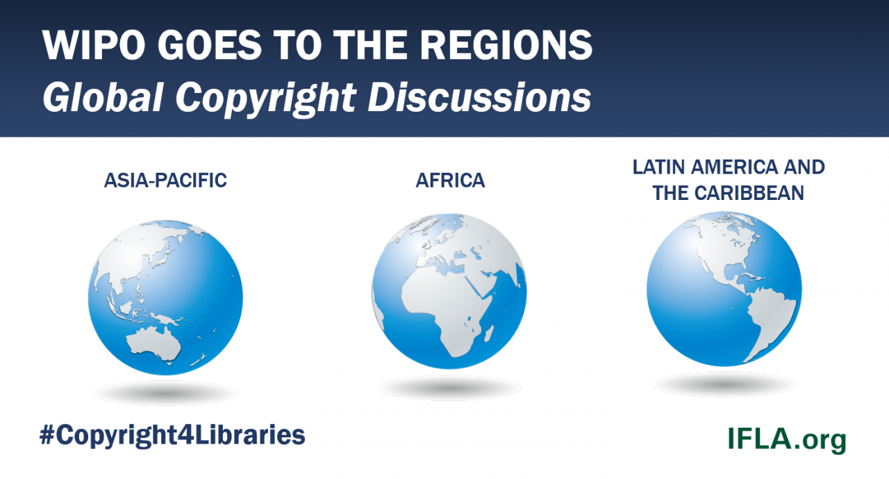 WIPO GOES TO THE REGIONS: Global Copyright Discussions