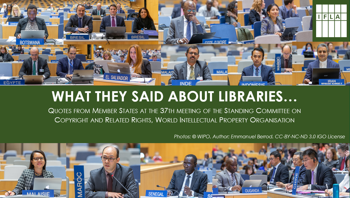 What they said about libraries