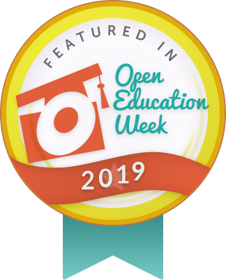 OPEN EDUCAITON WEEK 2019
