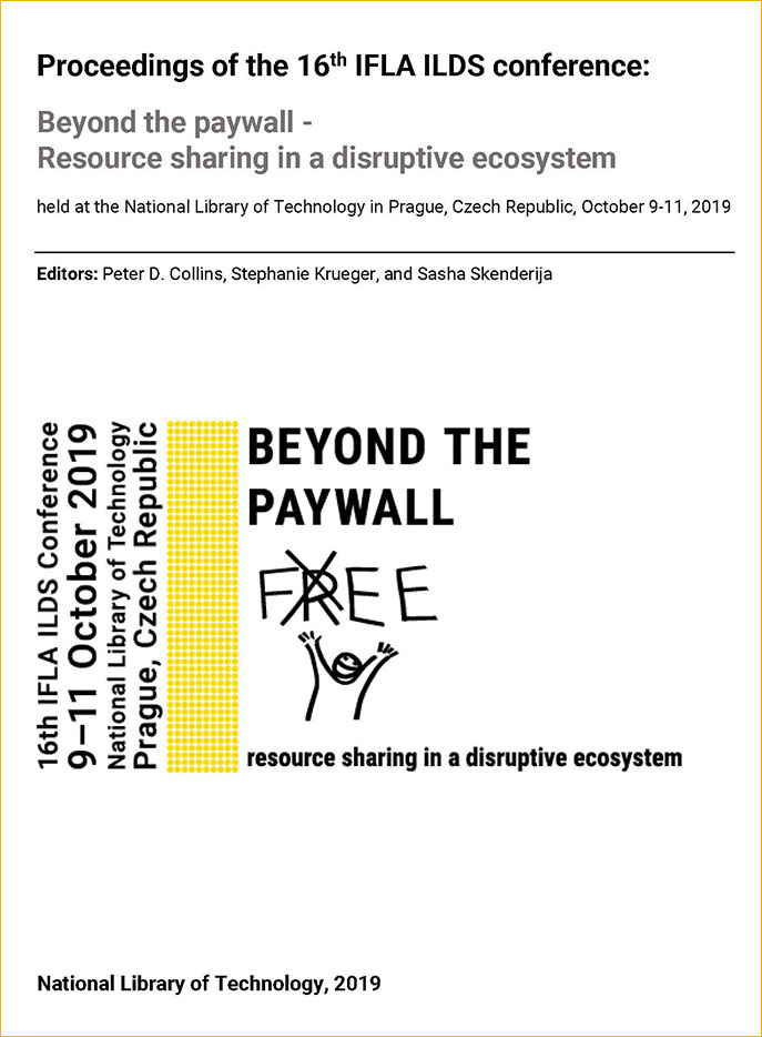 Beyond the paywall - Resource sharing in a disruptive ecosystem