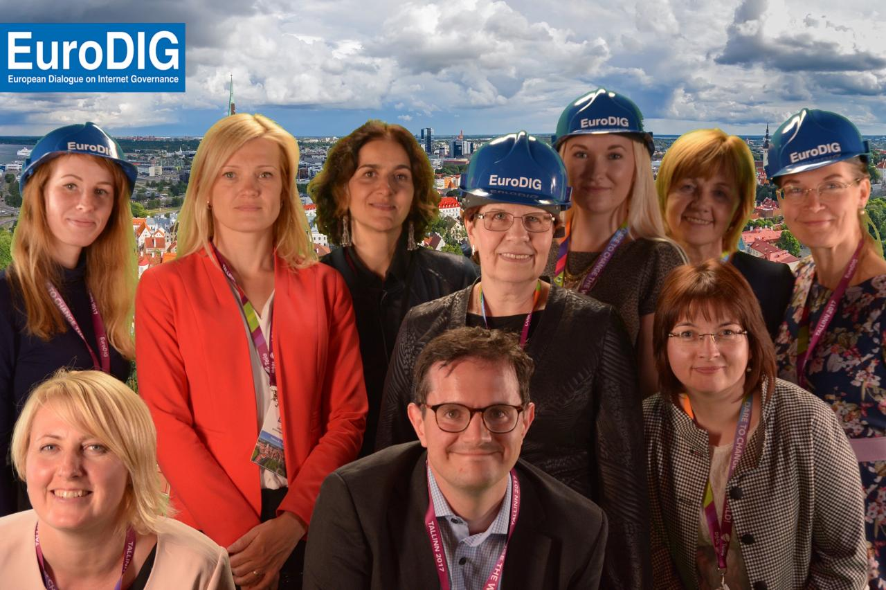 IFLA and Estonian LIbrarians Together at EuroDIG