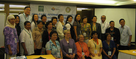 IFLA Internet Manifesto Train the Trainers Workshop, Manila, Philippines