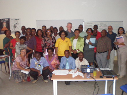 Participants at the Mozambique PAHI workshop