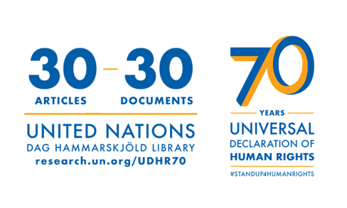 UN New York Library HR logo
