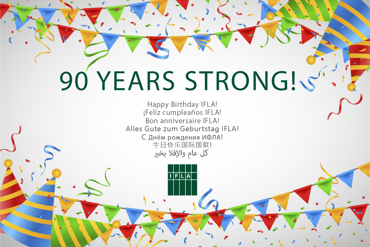 Happy Birthday IFLA!