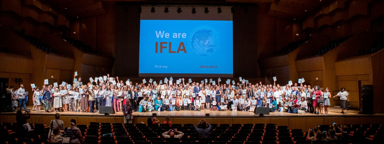 Launch of the IFLA Strategy 2019-2024 at WLIC 2019, Athens, Greece
