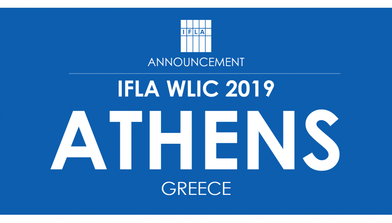 World Library and Information Congress (WLIC) 2019