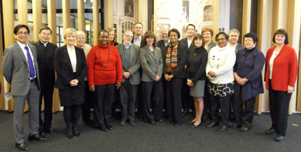 Members of the IFLA Governing Board, 2009-2011