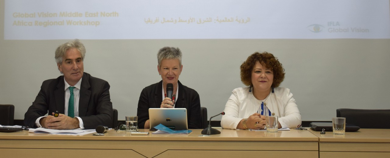 IFLA Secretary General, President-elect and General Director of the National Library of Tunisia