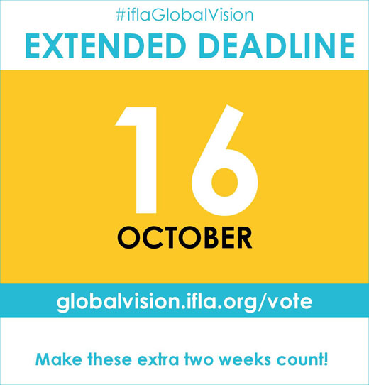 Deadline: 16 October