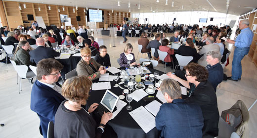 Global Vision workshop participants on 3 April