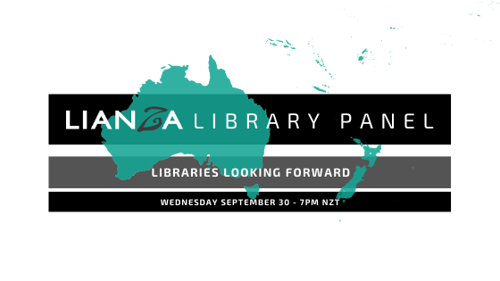 LIANZA panel discussion: Libraries looking forward