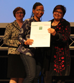 Ujala Satgoor and Segametsi Molawa, Co-Chairs of the IFLA Cape Town National Committee