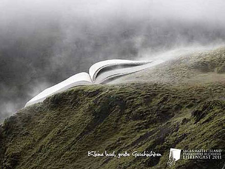 © Fiton - Promotional poster for Sagenhaftes Island – Iceland Guest of Honour, Frankfurt Bookfair 2011