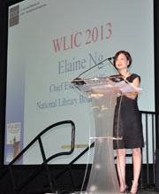 Elaine Ng, Chief Executive Officer of the National Library Board, Singapore