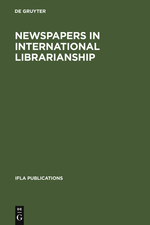 Newspapers in International Librarianship