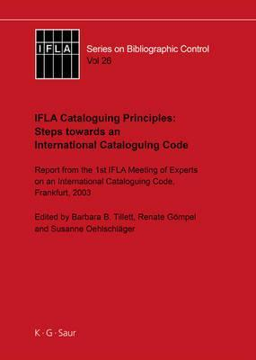 Steps Towards an International Cataloguing Code