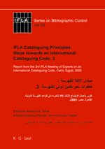 IFLA Cataloguing Principles: Steps Towards an International Cataloguing Code, 3