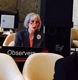 Victoria Owen during the UNESCO meeting