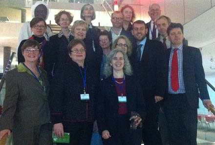 The library and archive delegation at WIPO