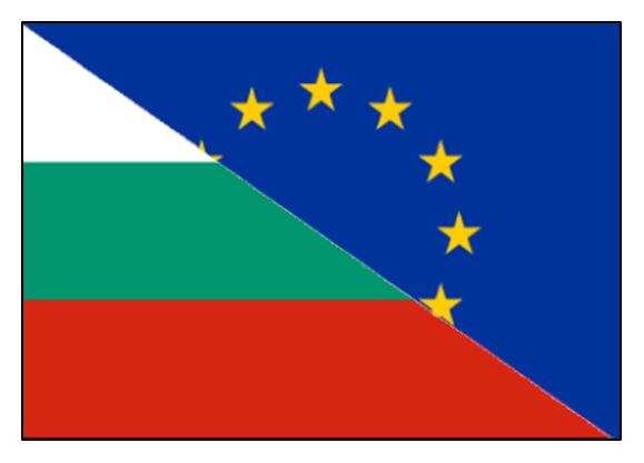 EU and Bulgarian Flags