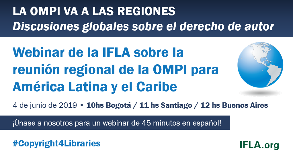 IFLA Webinar on the WIPO Latin America and the Caribbean Regional Meeting