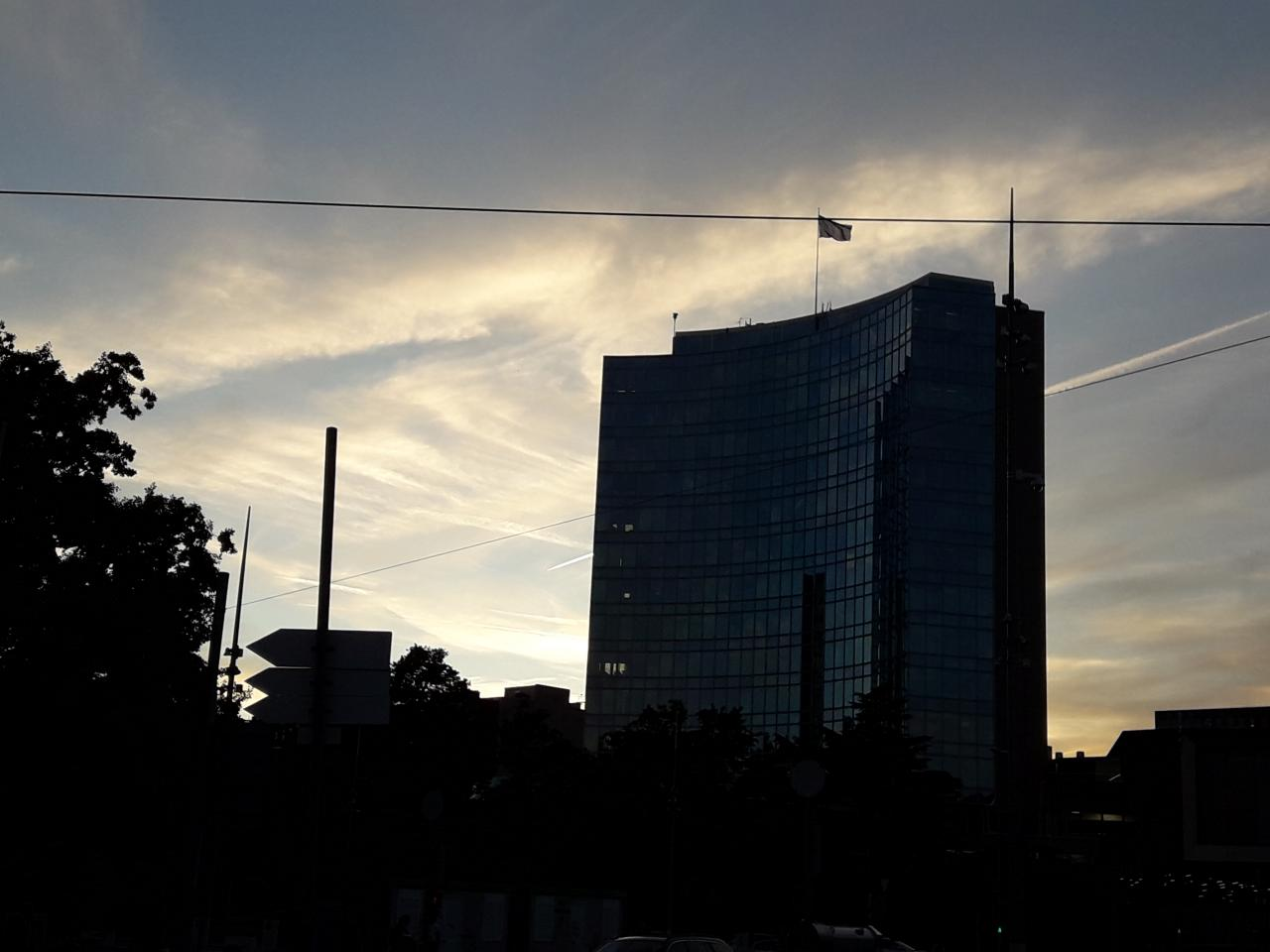 WIPO Headquarters, Evening