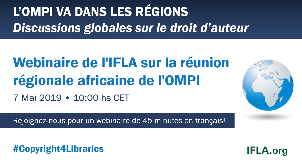 IFLA Webinar on the WIPO African Regional Seminar