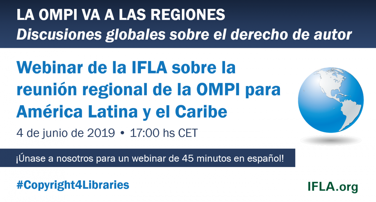 IFLA Webinar on the WIPO Latin America and the Caribbean Regional Seminar