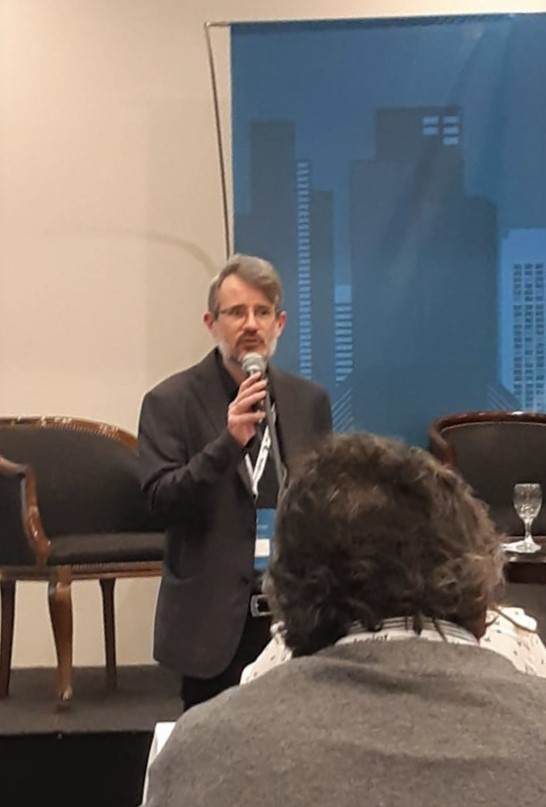 Andrés Reinoso speaks for IFLA at LACIGF11