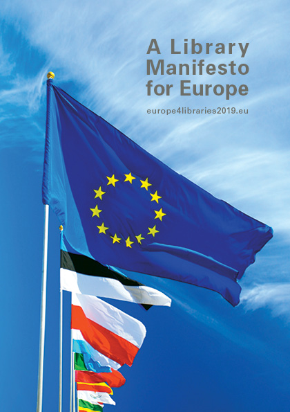 Library Manifesto for Europe Front Page