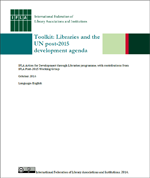 Toolkit: Libraries and the UN post-2015 development agenda