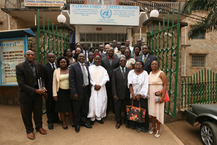 Participants at the 2030 Agenda meeting in Cameroon