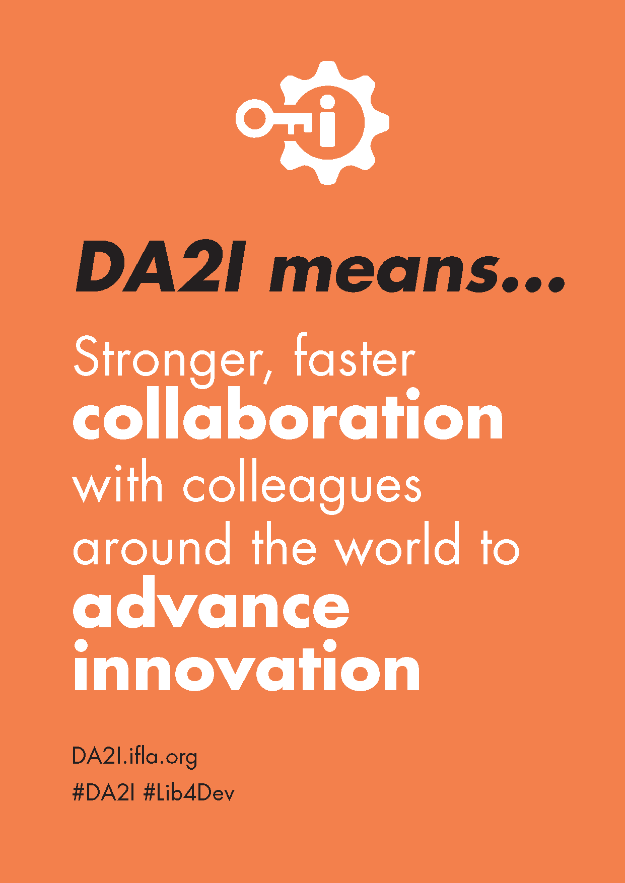 DA2I Postcard: SDG 9 Industry, innovation and infrastructure