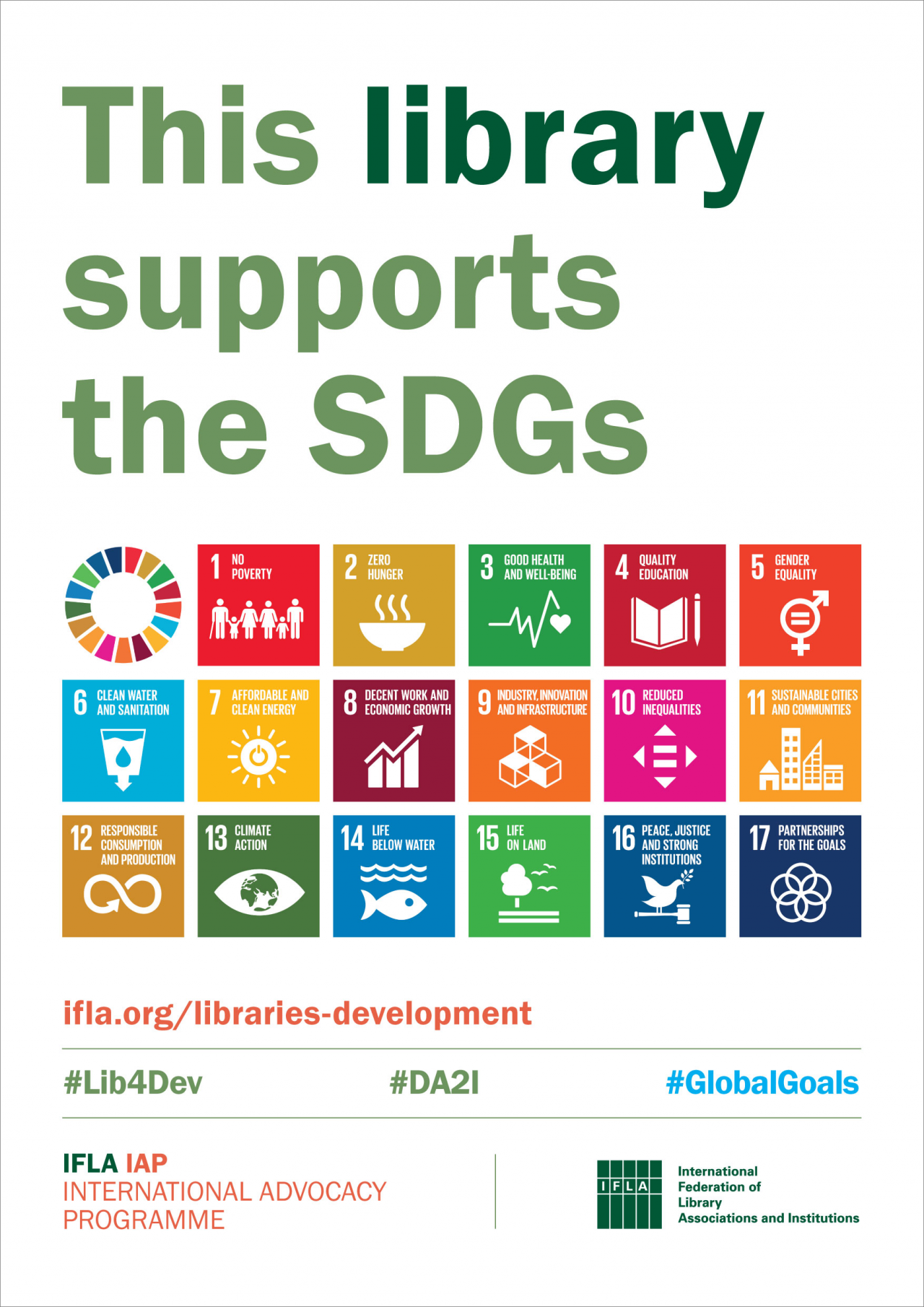 This library supports the SDGs