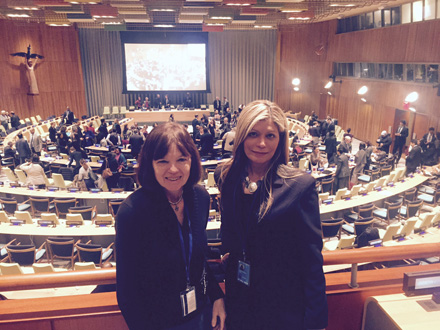 IFLA President-Elect Donna Scheeder and Governing Board member Loida Garcia-Febo