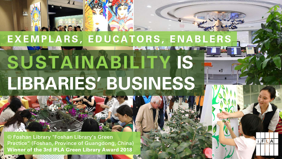 Sustainability is libraries' business
