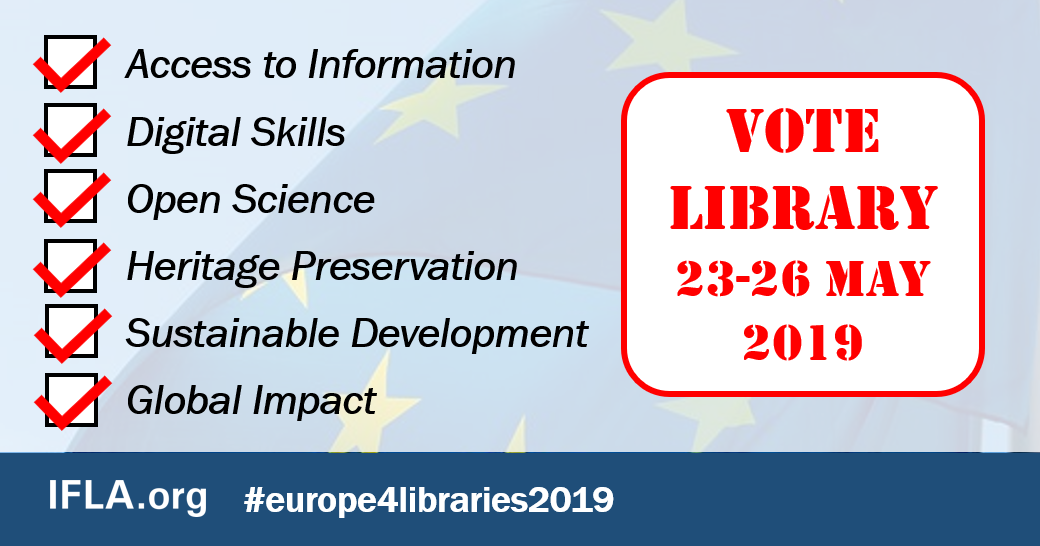 Vote Library Image: Access to Information, Digital Skills, Open Science, Heritage Preservation, Sustainable Development, Global Impact