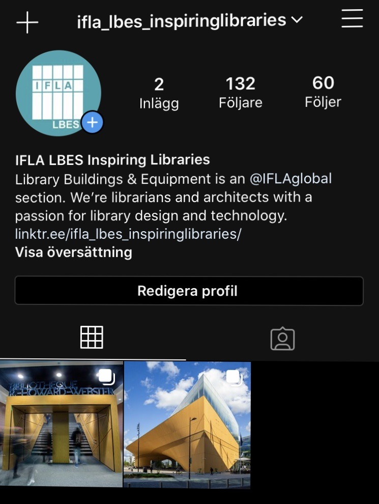 IFLA LBES new Insta account