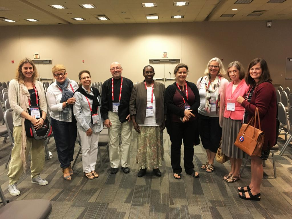 Law Libraries Standing Committee members and WLIC delegates