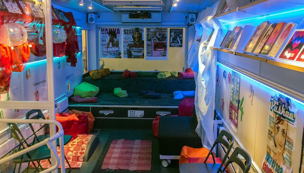 Inside the Love Bus
