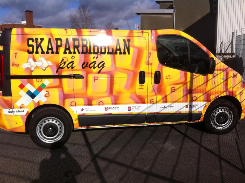 Mobile MakerSpace in Vaggeryd Sweden