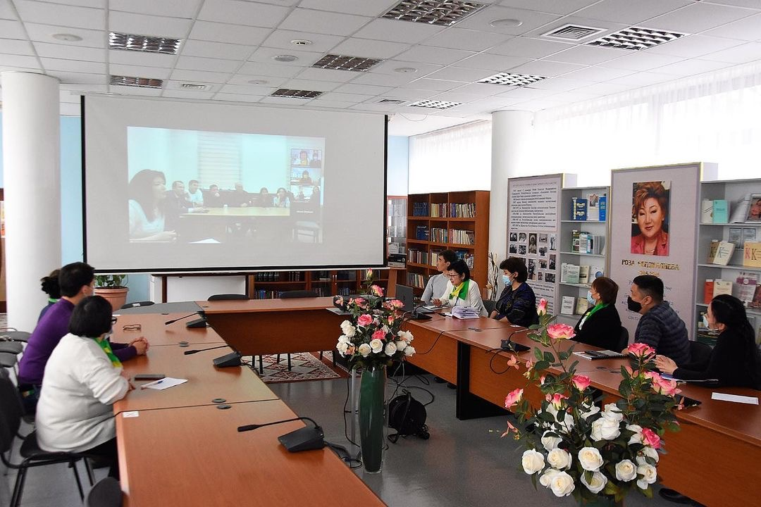 Book restoration specialists attend a virtual master class with colleagues from across Central Asia